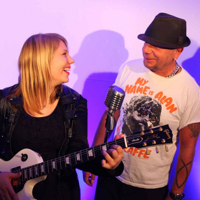 Starcover Partyband live mit Mel & JC