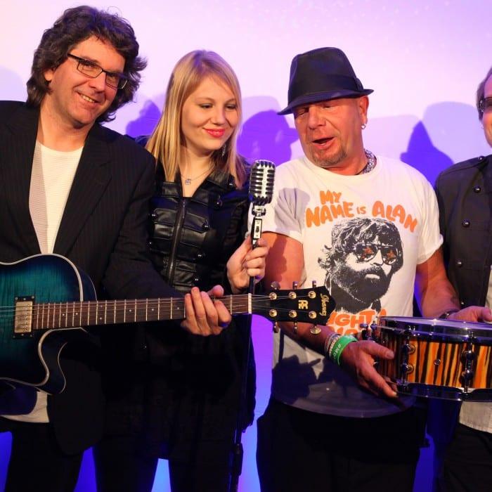 Starcover Tanzband Quartett